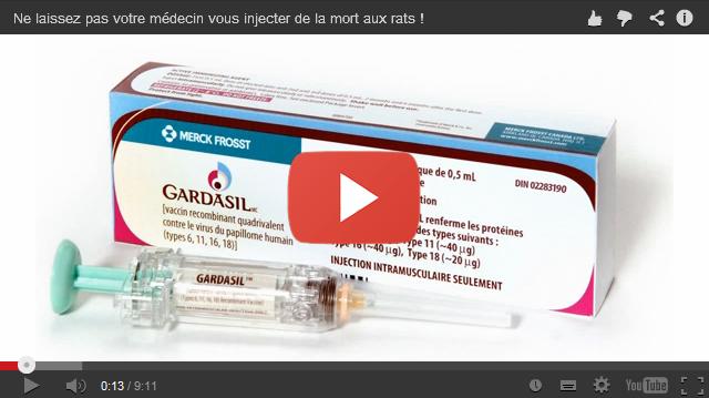 Ne laissez pas votre médecin vous injecter de la mort aux rats!