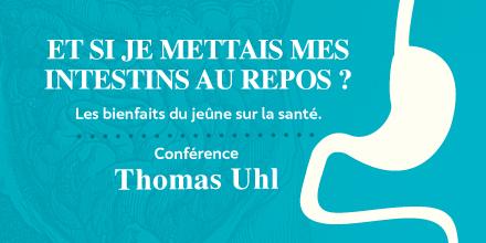 L'IPSN accueille Thomas Uhl pour une conférence sur le jeûne