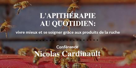Conférence IPSN : Apithérapie, les bienfaits des produits de la ruche sur notre santé